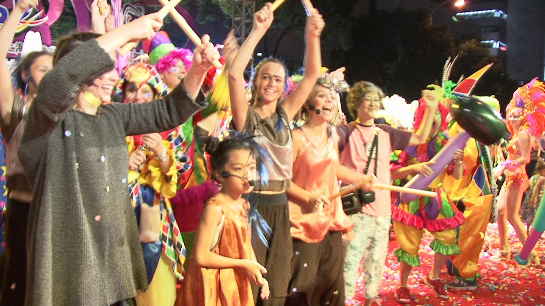 Nouvel an chinois  La Compagnie des Enfants du Spectacle  à Shanghaï
